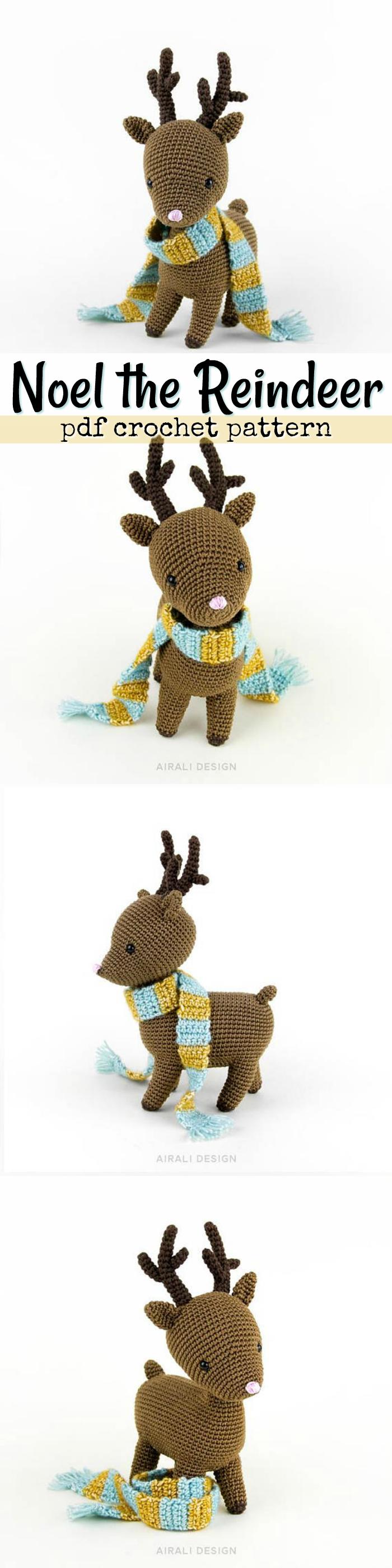 Noel the reindeer pdf crochet pattern sweet little christmas deer noel the reindeer pdf crochet pattern sweet little christmas deer to crochet love these bankloansurffo Choice Image