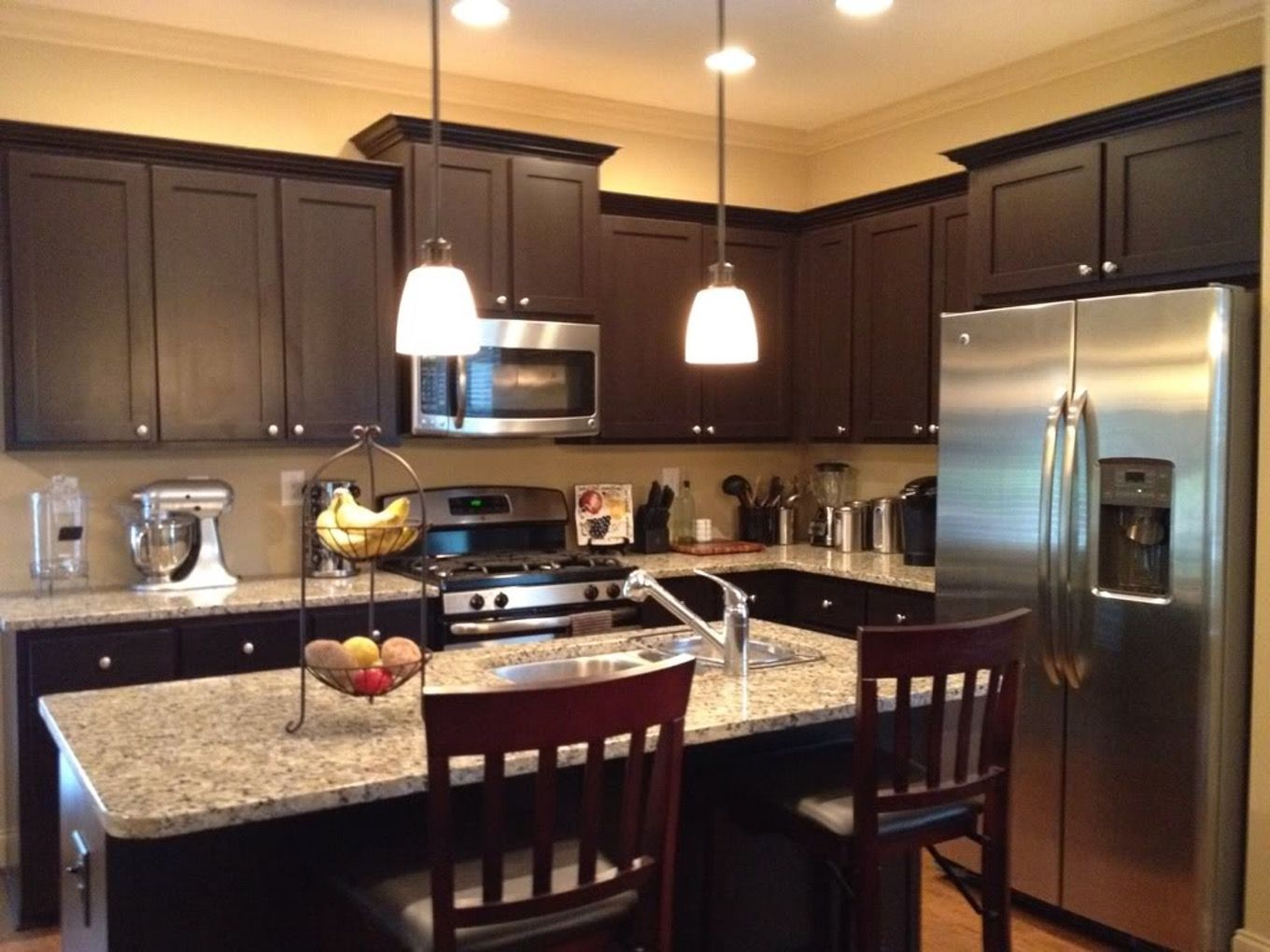 Image Result For Rustic Kitchen Panda Kitchens Home Depot Kitchen Kitchen Cabinets Home Depot Espresso Kitchen Cabinets