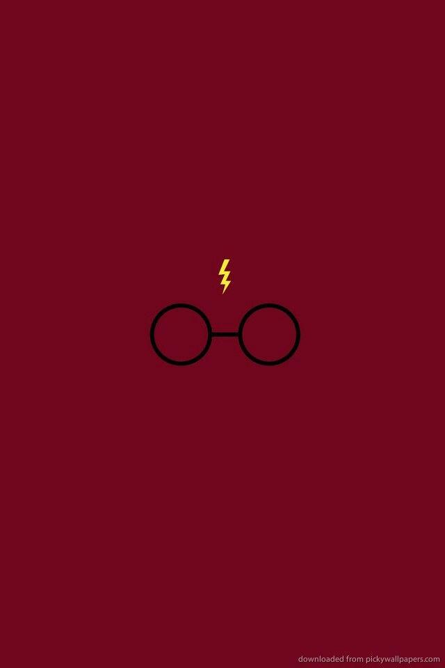 Los anteojos y cicatriz de Harry Potter #Rojo
