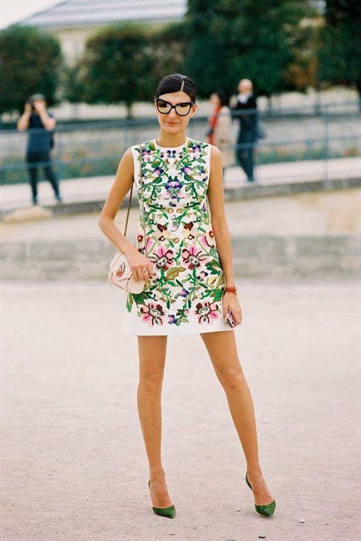 Vanessa Jackman: Paris Fashion Week SS 2014....Giovanna