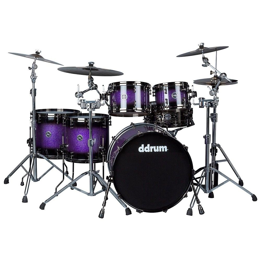 Ddrum Max Series 5-Piece Maple Alder Shell Pack Purple Sparkle