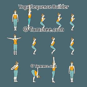 shoulder salutation sequence yoga  yoga sequences
