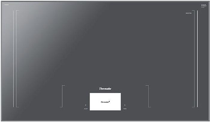 Thermador 36 Masterpiece Series Dark Gray Induction Cooktop