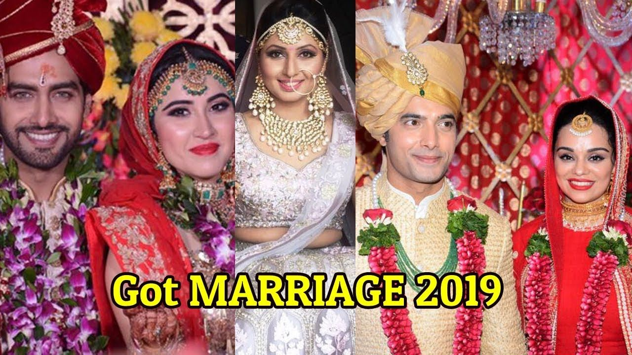 7 Tv Actress And Actor Who Got Married In 2019 Secret Marriage Top South Indian Actress Actors Actresses