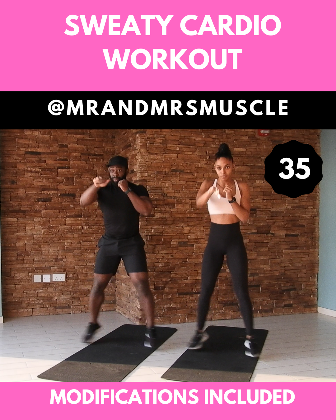 Sweaty Intense Cardio Workout #workout
