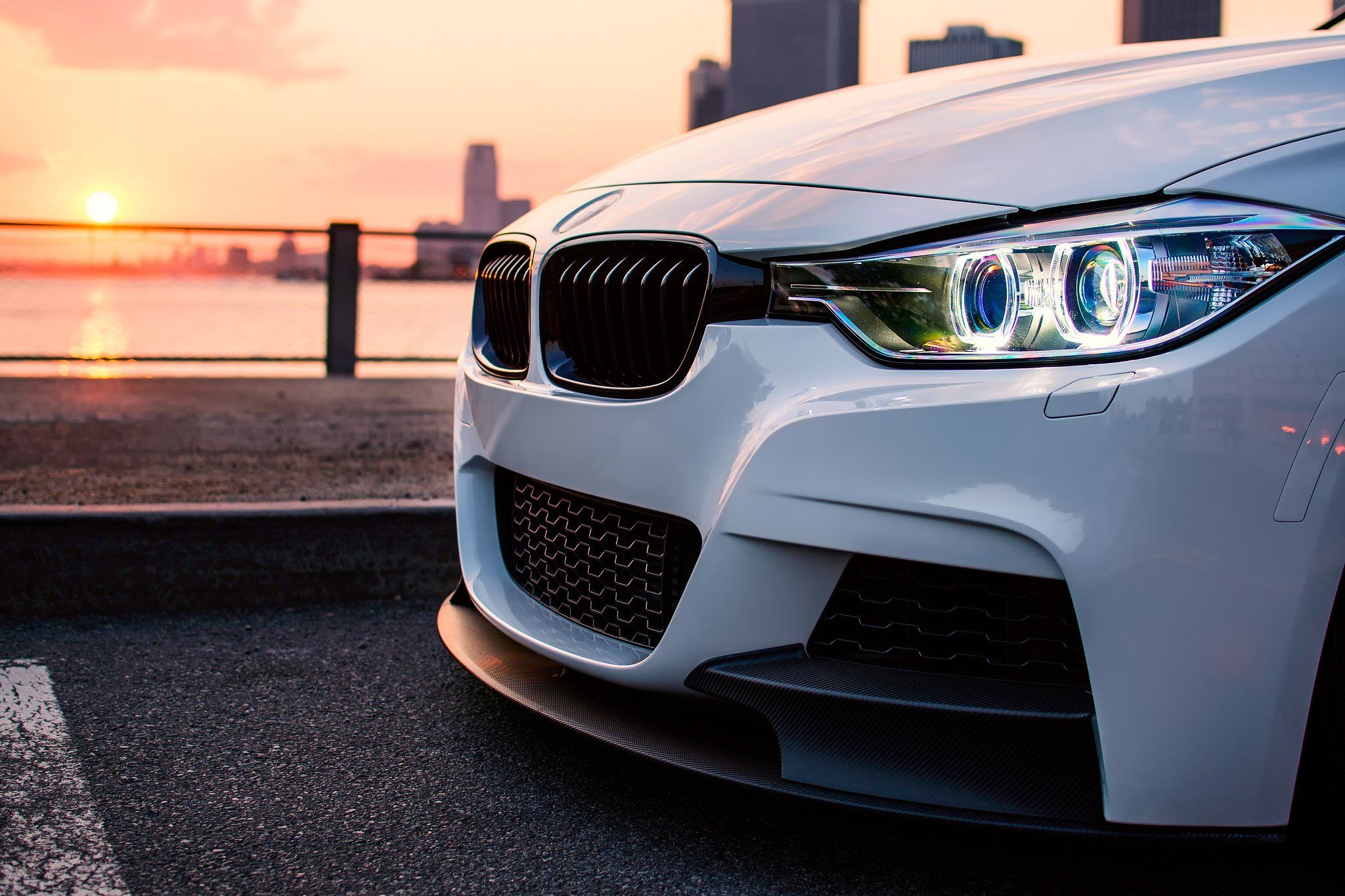 Side View Bmw F30 In 2019 Bmw Iphone Wallpaper Volkswagen