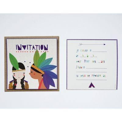 Carte De Voyance Indienne.Carte Invitation Anniversaire Indien Imaginative Birthday