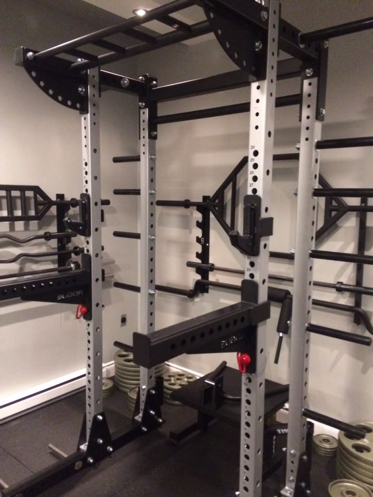 Rogue fitness half rack cosmecol