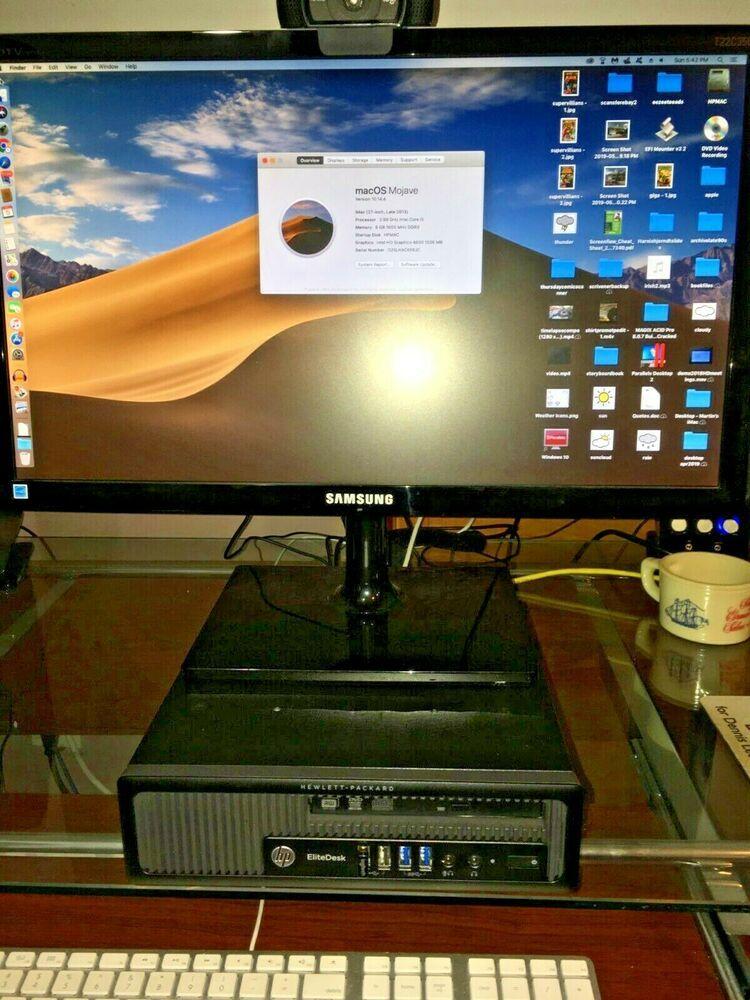 Details about HP EliteDesk 800 G1 USDT 500GB SSD i5 Quad 8GB