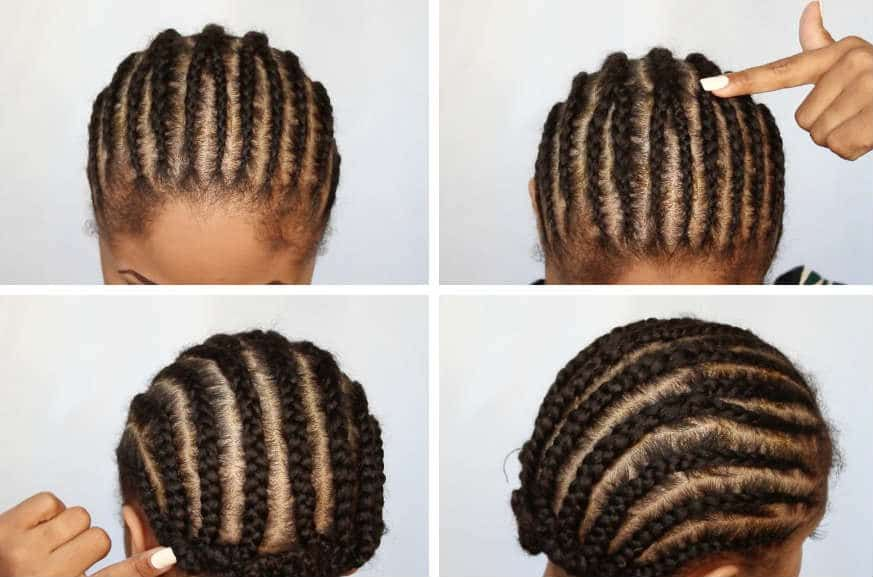 Crochet Braids And Twists Step By Step Styling Guide For Beginners Hair Braid Diy Hair Patterns Crochet Braid Pattern