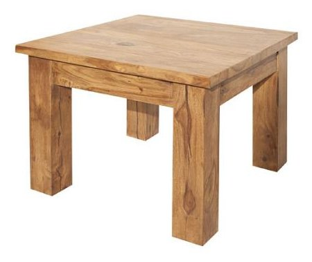 Modena Coffee Table UnoDesign Finish: Teak | Solid wood ...
