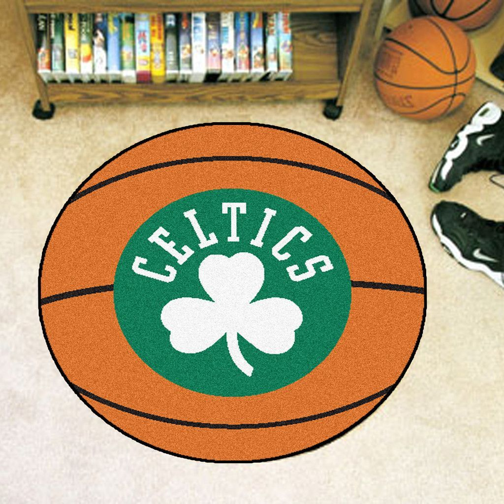 Boston Celtics Basketball Area Rug Boston celtics