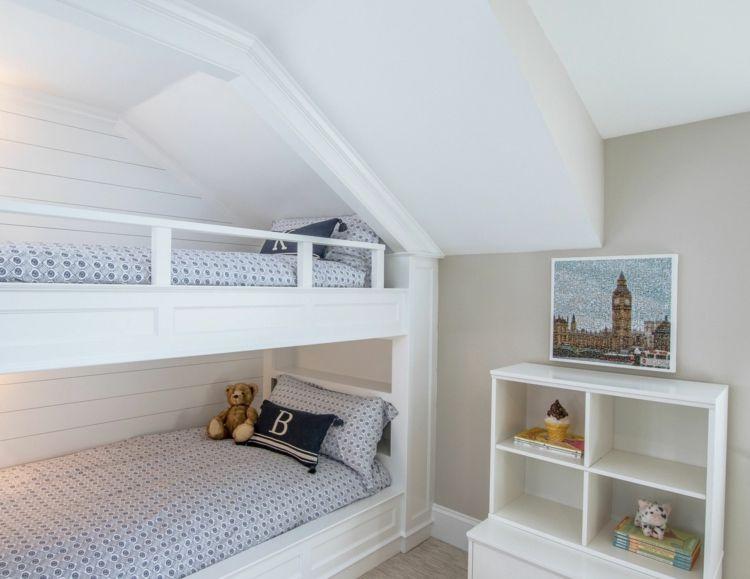Tipps für das Bett unter Dachschräge im Jugend und