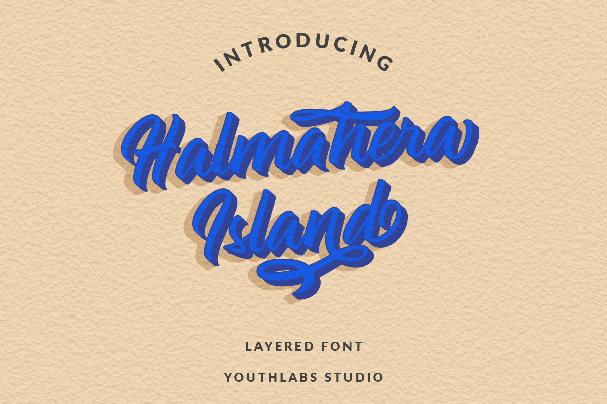Halmahera Island Font By Youthlabs Creative Fabrica
