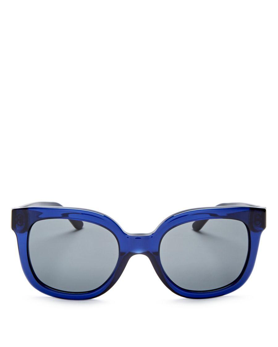 Tory Burch Square Sunglasses, 54mm