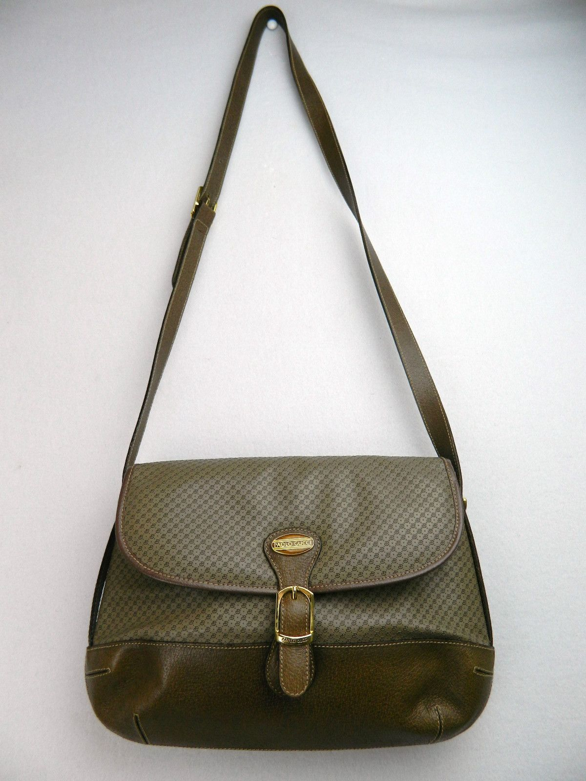 03cfb851249 Vintage Paolo Gucci Cross Body Bag