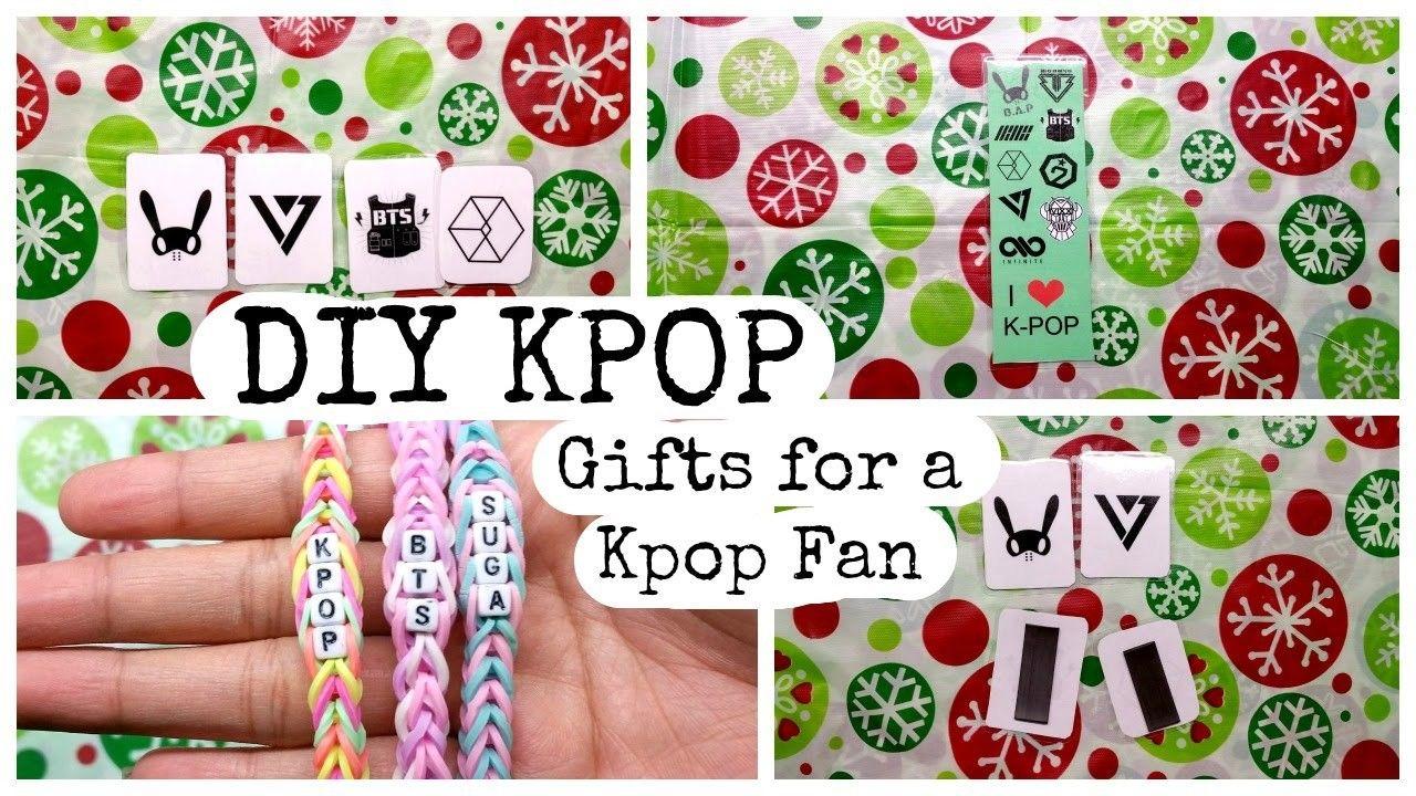 DIY KPOP Gifts For A Kpop Fan