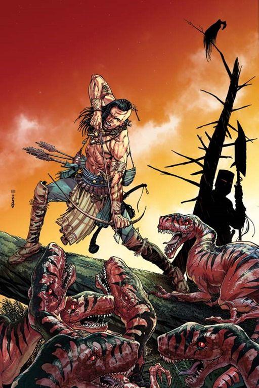 Bart Sears y | torna a Turok, il cacciatore di dinosauri Dynamite