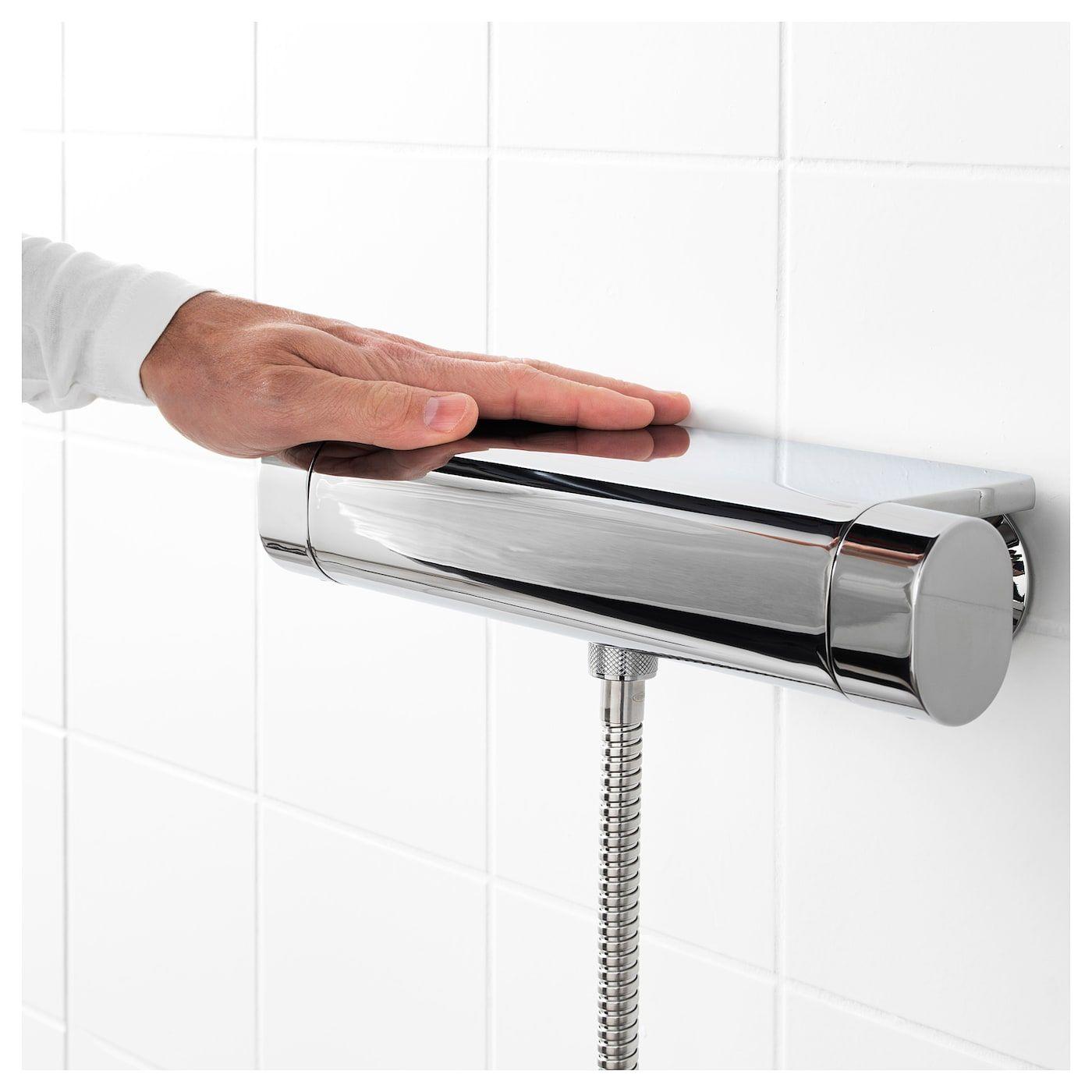 BROGRUND ThermostatMischbatterie/Dusche verchromt