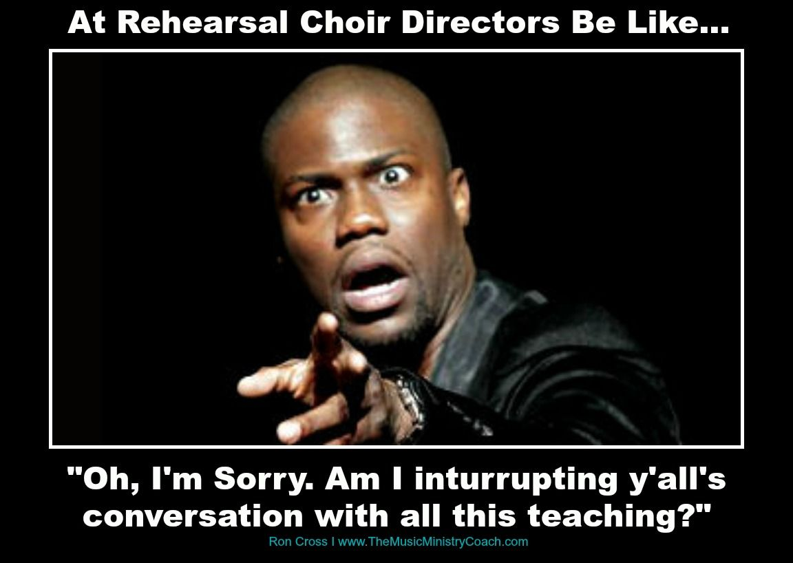 Choir Directors Be Like Choir Nerd Pinte