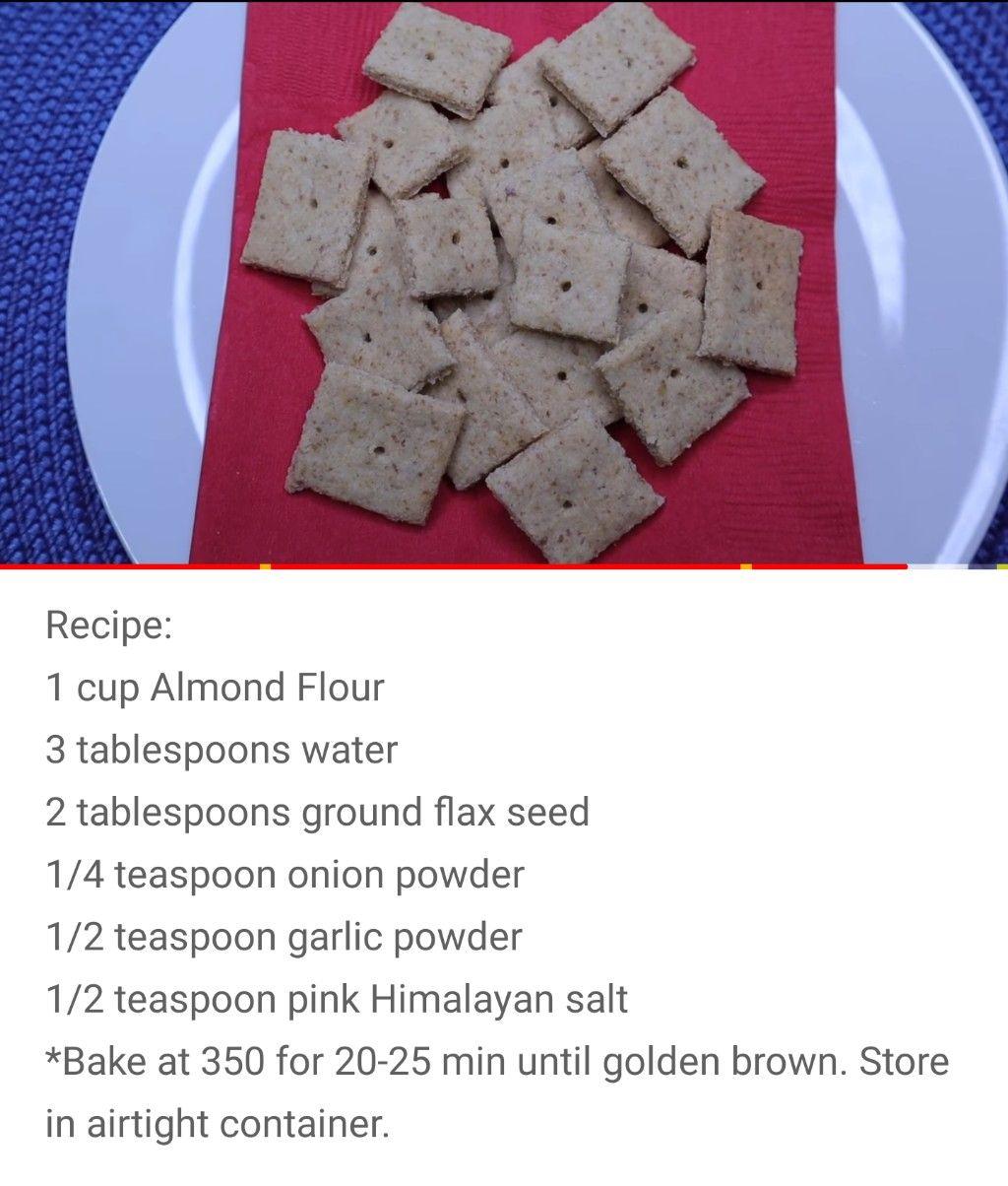 Keto Crackers By Kristi Davis Keto Recipes Recipes Keto Diet Recipes