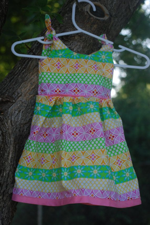 Infant Tie Dress by LanaWhooo on Etsy, $8.00