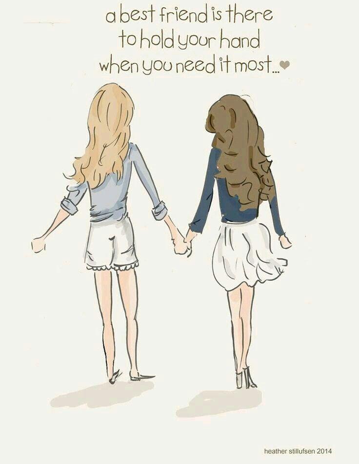 """""""Un mejor amigo esta ahí para mantener la mano cuando mas lo necesitas""""."""