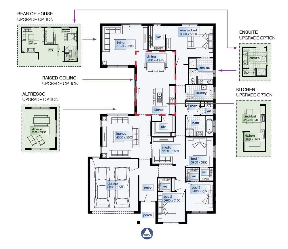 Simonds Homes Floorplan - Bolton   Dream   Pinterest   House