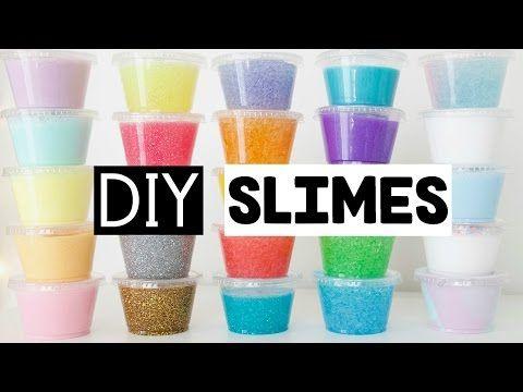 Diy Pink Glitter Tide Slime Only 2 Ingredients Glue Laundry