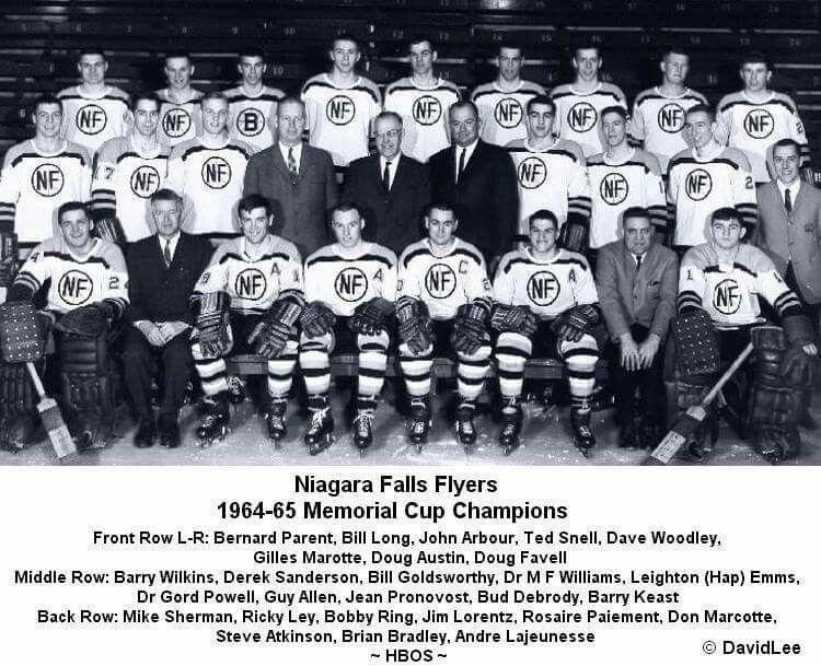 Niagara Falls Flyers 1964-65 Memorial Cup Champions of Canada ... 3fdb37e1b