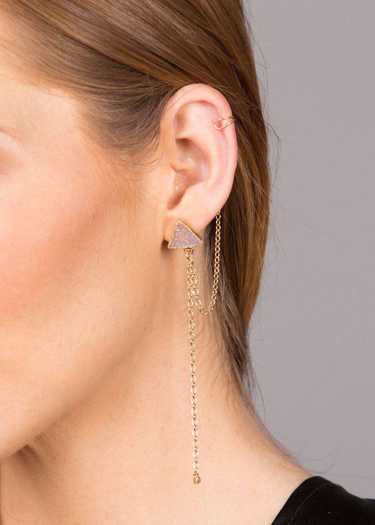 Brave Earrings/ Cuff