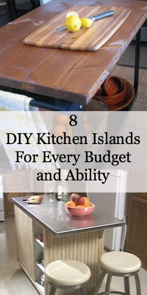 8 DIY Kitchen Islands For Every Budget and Ability Aha moment Al