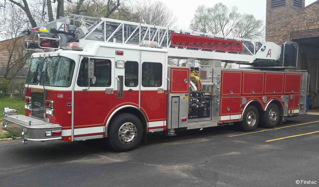 Used Fire Truck 1999 Spartan Quality for sale at