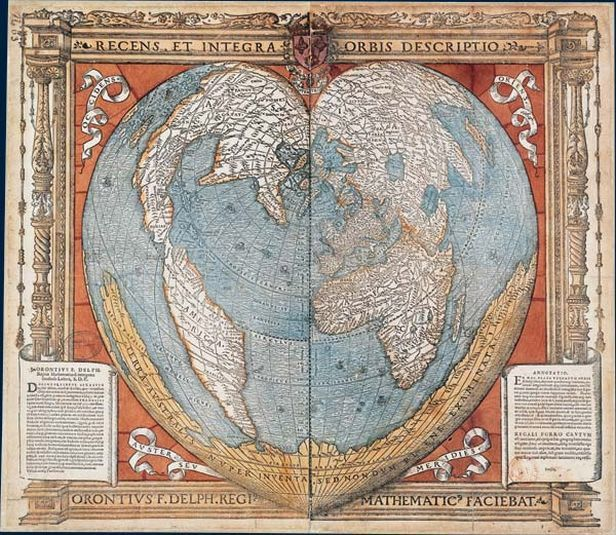 Oronteus Finaeus map   1531 From where he knew about Antarctica     Oronteus Finaeus map   1531 From where he knew about Antarctica       Cristopher Columbus first discovery   1492   TATA