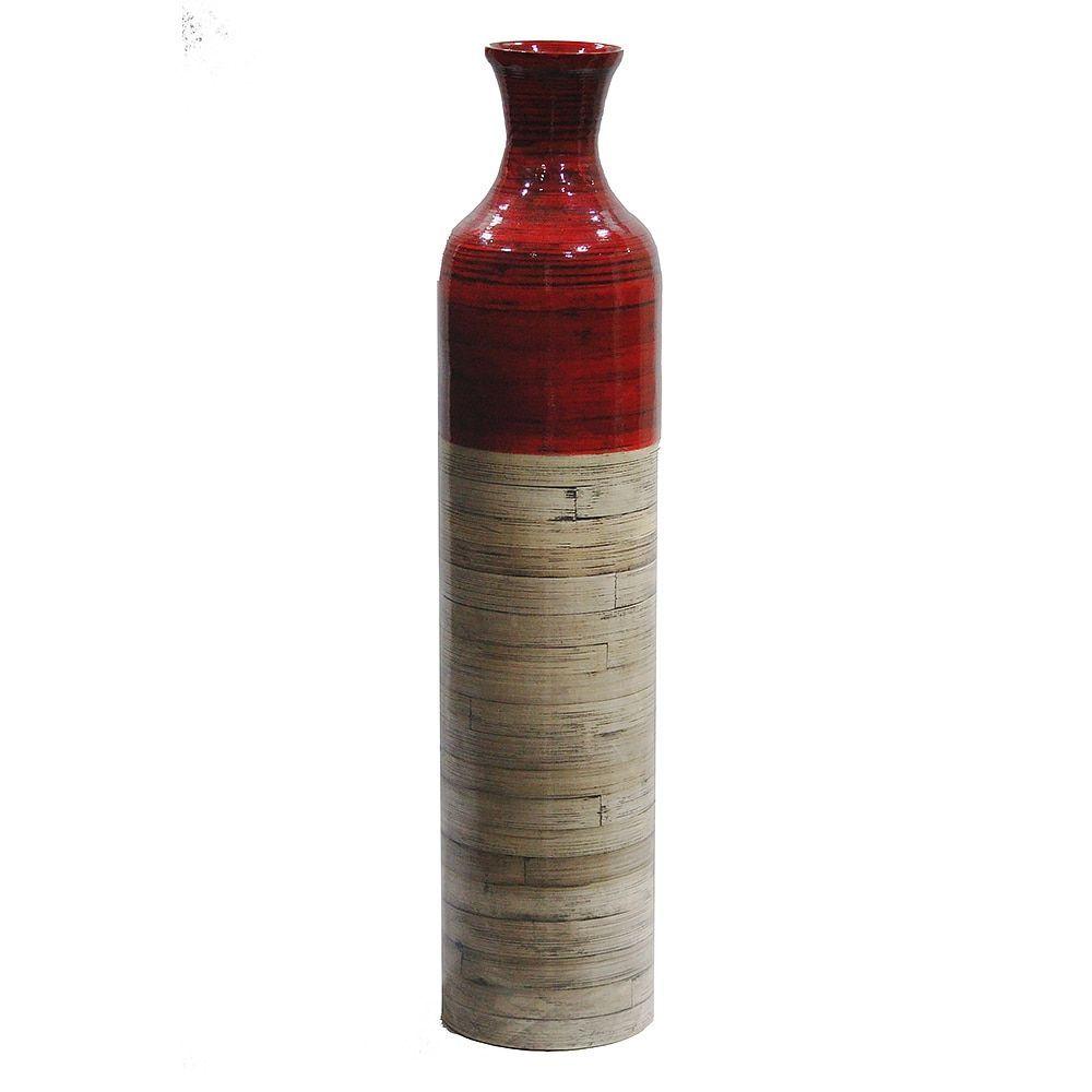 Heather Ann Creations Bamboo Handspun Vase