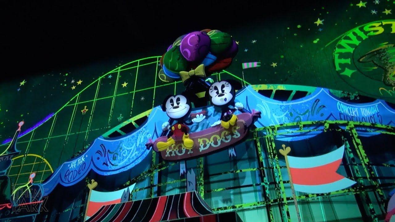 Mickey & Minnie's Runaway Railway Opening Day Highlights