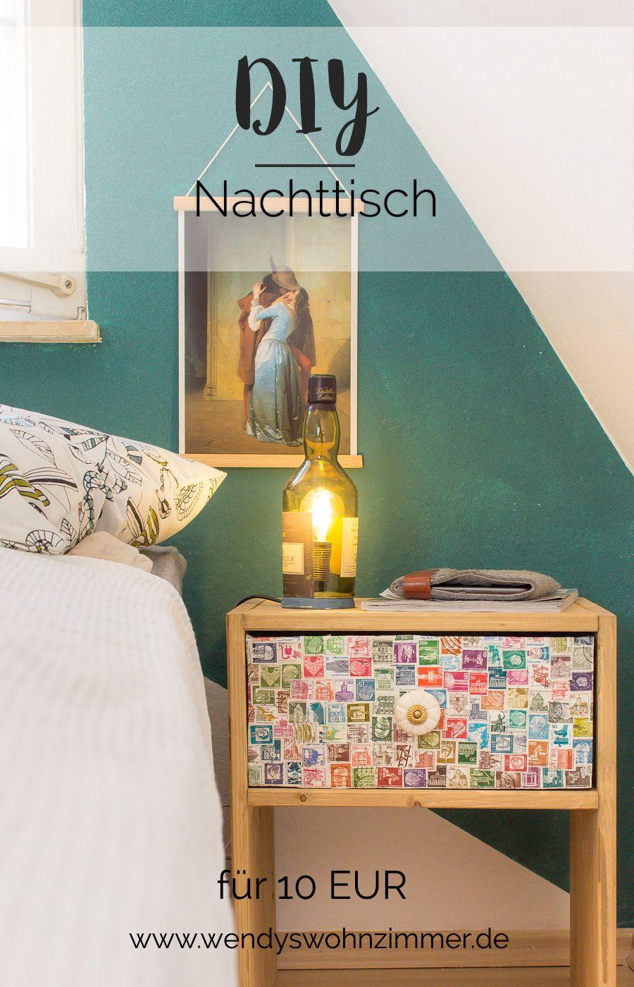 Diy Nachttisch Selber Bauen Wendys Wohnzimmer Pinterest