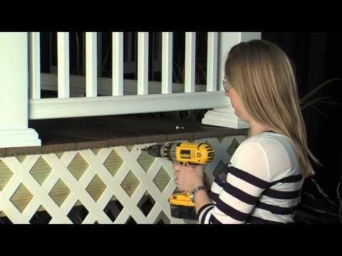 DIY Mobile home skirting design -- critter proof! - YouTube ... on plastic fences, plastic doors, plastic siding, plastic mobile home faucets, plastic surgeons mobile al,