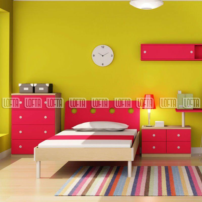 Muebles de dormitorio infantil con juegos modernos dise os for Camas infantiles diseno moderno