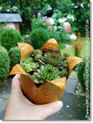 Broceliandes Gartenträume #kreativehandwerke