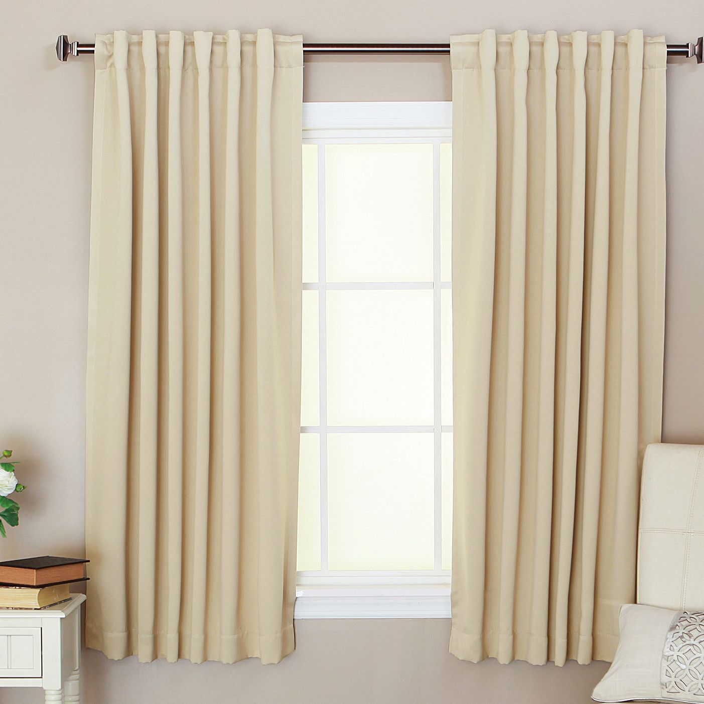 Blackout Thermal Single Curtain Panel