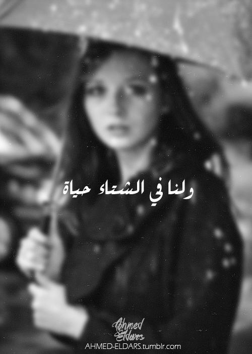 لنا ذكريات يأتى الشتاء لنسترجعها مرة أخرى Rain Words Cover Photo Quotes Arabic Quotes