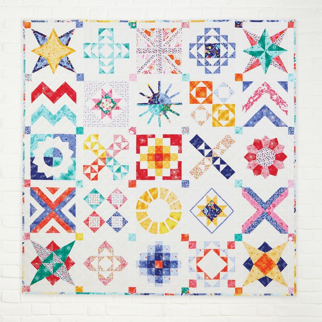 Block of the Month by Lynne Goldsworthy - Love Patchwork ... : block of the month quilt - Adamdwight.com