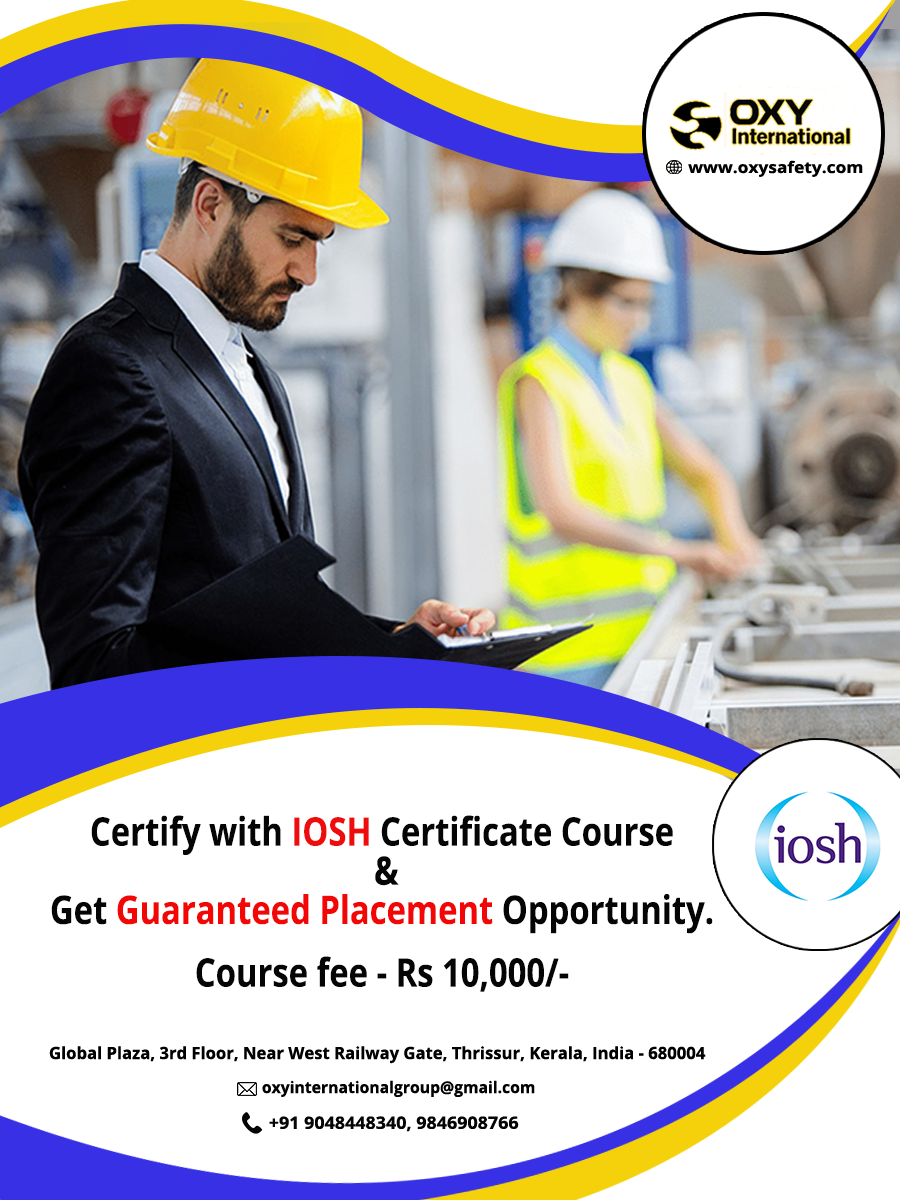 Certify with IOSH Certificate Course & Get Guaranteed