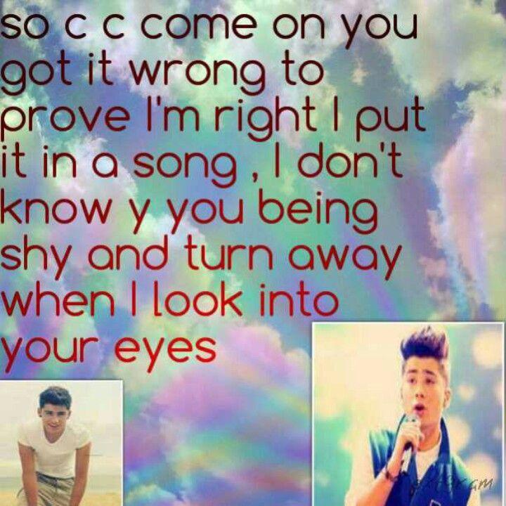 One direction lyrics to what makes you beautiful- Zayn Malik