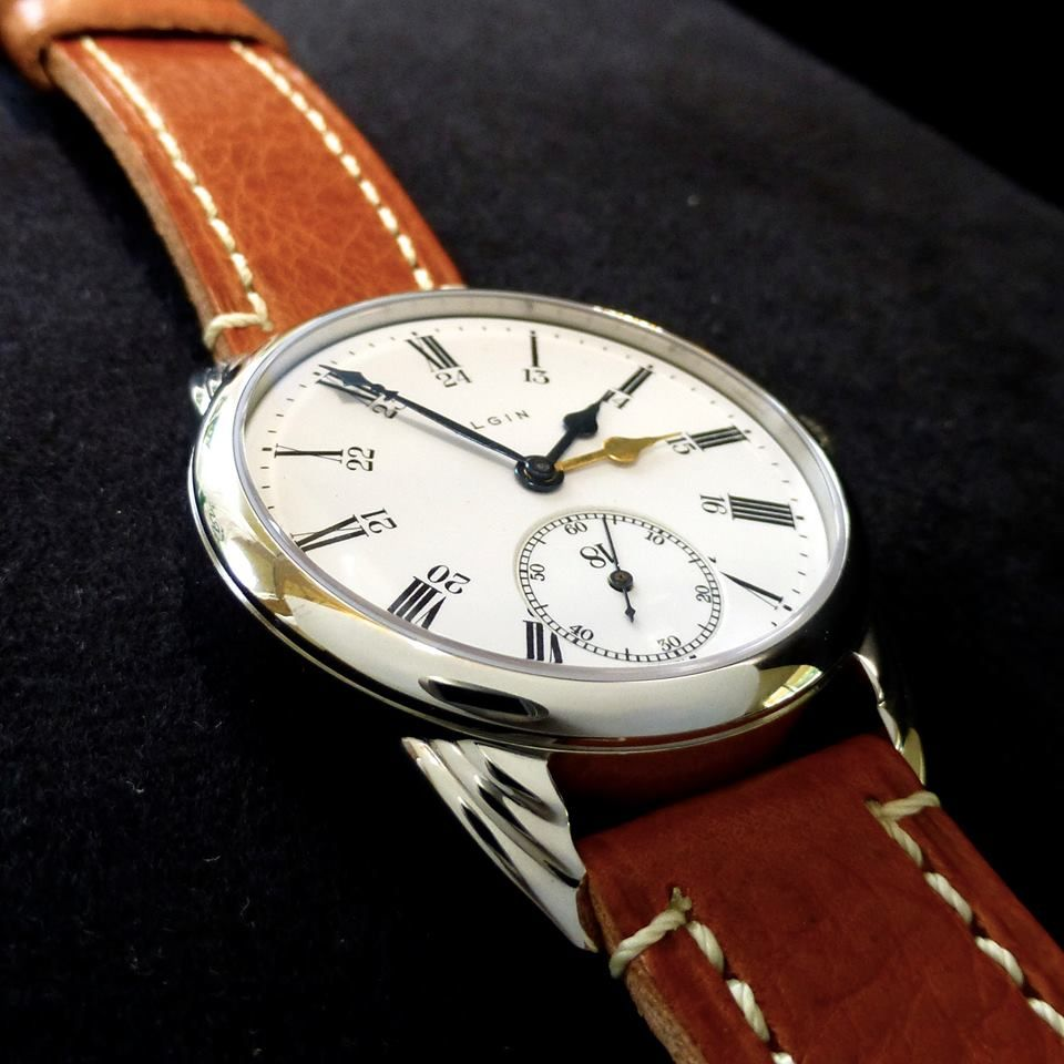 Dual hand railroad watch