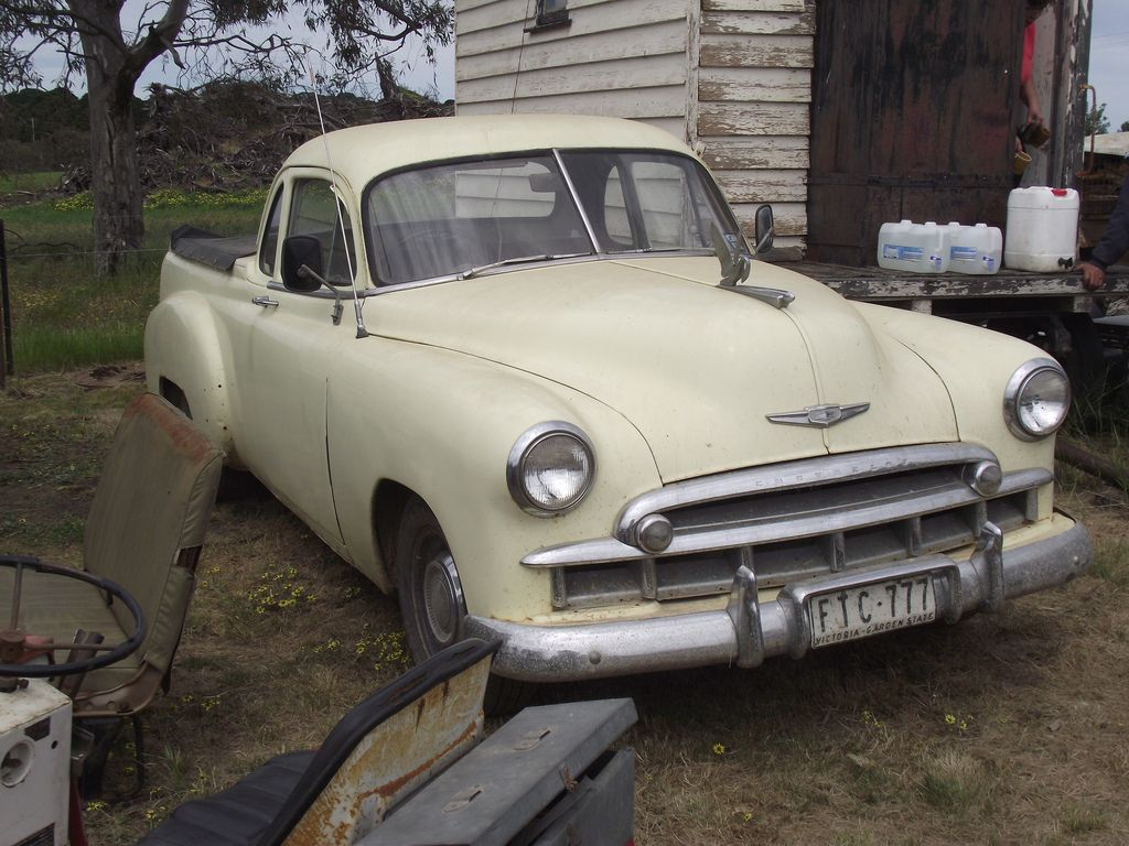 1949 Chev Coupe Ute. | old cars | Pinterest | Ute, Rusty cars and ...
