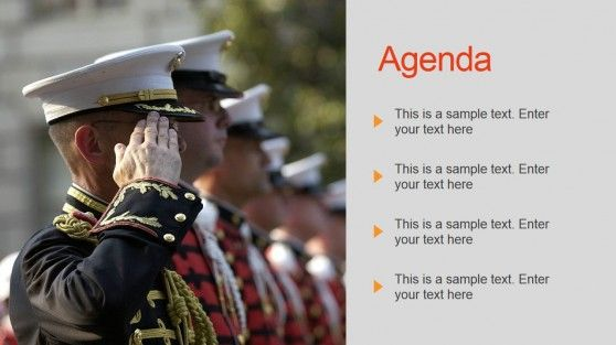 Military Powerpoint Template With Images Military Powerpoint