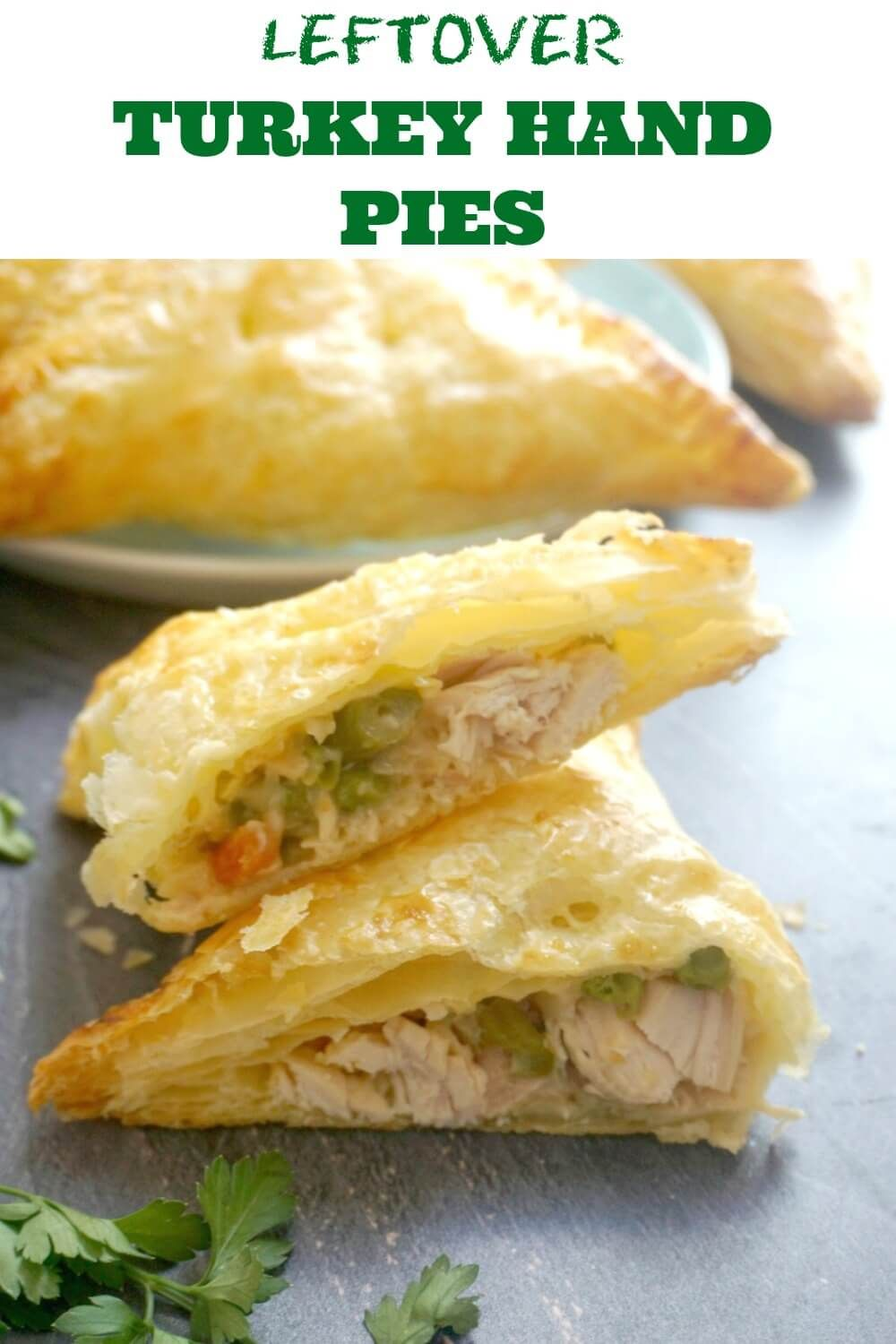 Photo of Leftover Turkey Hand Pies with Puff Pastry