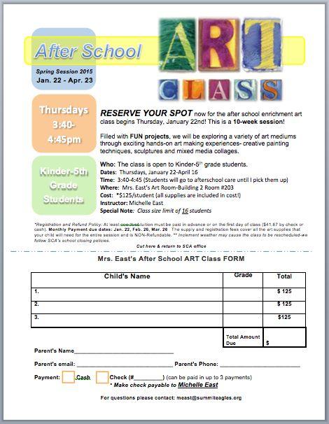 Start An After School Art Class Art Club Art Art Club Art School